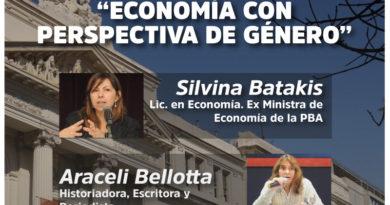 """CHARLA/DEBATE """"ECONOMÍA CON PERSPECTIVA DE GÉNERO"""""""