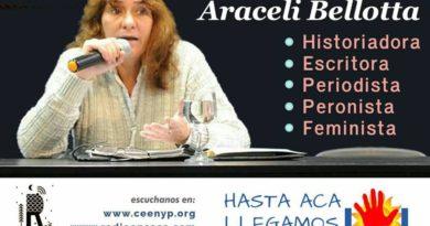"ARACELI BELLOTTA EN EL PROGRAMA ""HASTA ACÁ LLEGAMOS"""