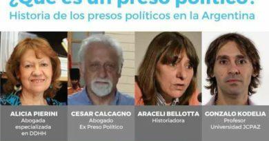 ARACELI BELLOTTA EN EL INSTITUTO PATRIA