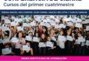 CONFERENCIA DE CIERRE DE CURSOS DEL PRIMER CUATRIMESTRE EN EL INSTITUTO PATRIA